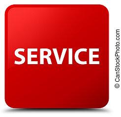 Service red square button