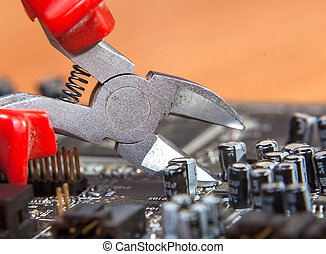 service repair and maintenance of electronics