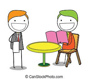 service, restaurant