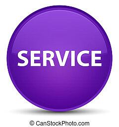 Service special purple round button