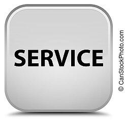 Service special white square button