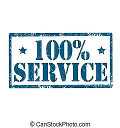 Service-stamp