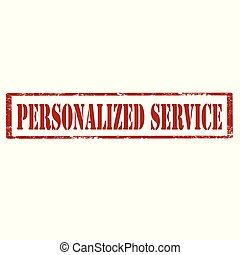 service-stamp, personalized