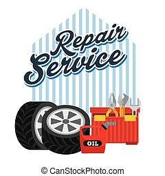 service station design, vector illustration eps10 graphic