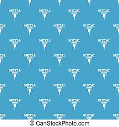 Service tool pattern vector seamless blue