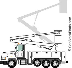 Crane Lift Truck Crystal Icon Clip Art Vectorby Cteconsulting7 698 Service