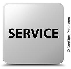 Service white square button