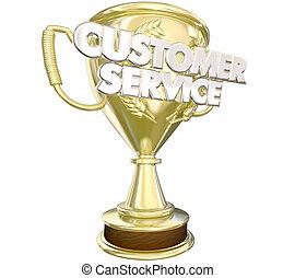 servicefachkraft, auszeichnung, preis, am besten, personal, wörter, 3d, abbildung