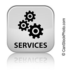 Services (gears icon) special white square button