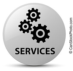 Services (gears icon) white round button