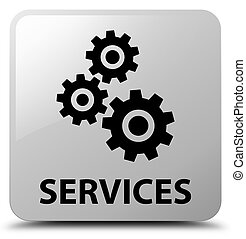 Services (gears icon) white square button