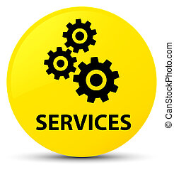 Services (gears icon) yellow round button