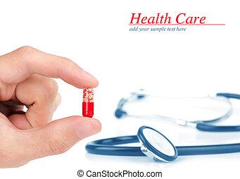 services médicaux, concept