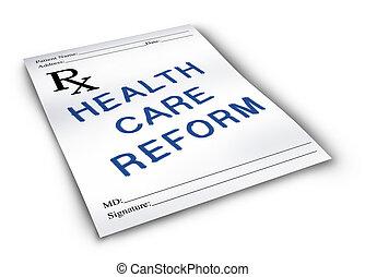 services médicaux, reform