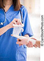 services, monde médical