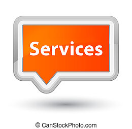 Services prime orange banner button