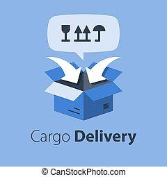 services, relocalisation, transport, fret, cargaison, expédition, distribution, emballage