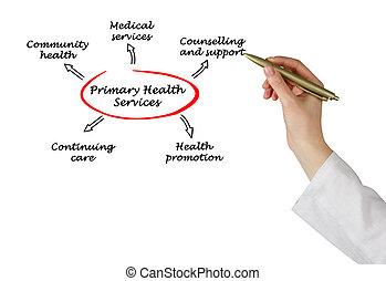 services, santé, primaire