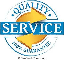 servicio, calidad