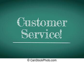servicio de cliente, ilustración, diseño