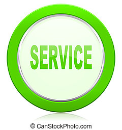 servicio, icono