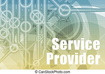 servicio, proveedor, resumen