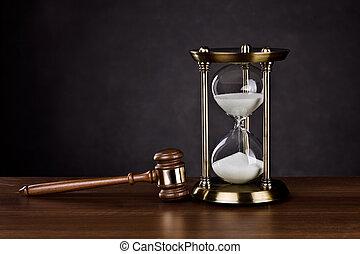 servicios, legal, tiempo
