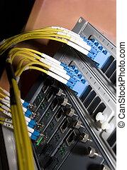 servidores, cables