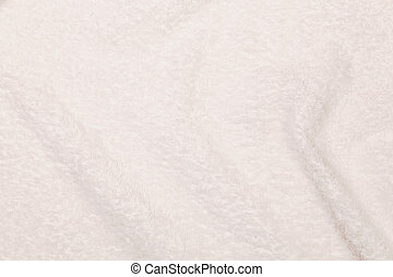 serviette blanche, tissu, fragment, comme, a, texture