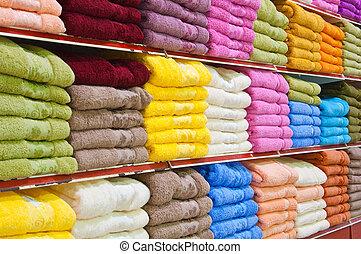 serviettes, terry
