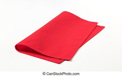 servilleta, rojo