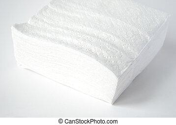 servilletas, papel