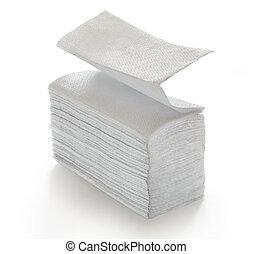 servilletas, toallas de papel