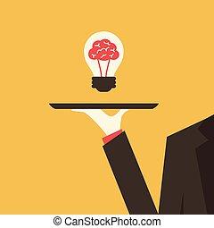 Serving an idea