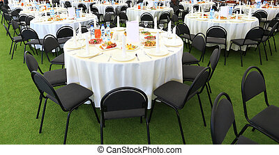 Serving table prepared