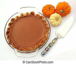 serving up pie