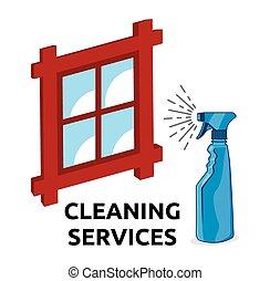 servizi, pulizia