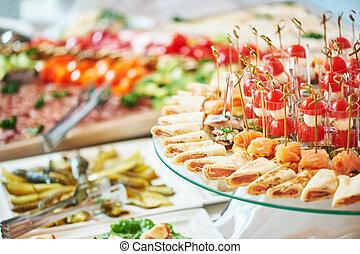 servizio cibo, ristorazione