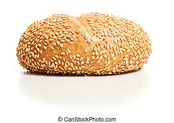 Sesame bread roll (Sesambroetchen)