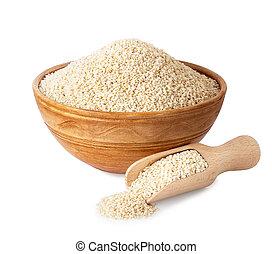 sesame seeds in bowl
