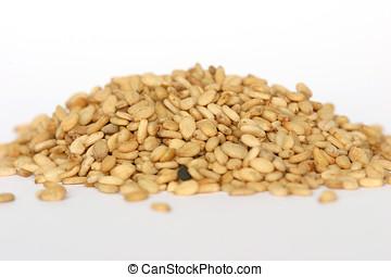 Sesame seeds - Closeup of sesame seeds