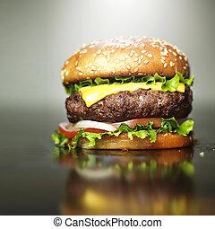 sesamo, formaggio, caramellato, azotemia, hamburger