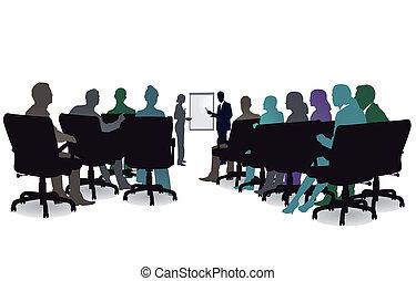 sesión, seminario