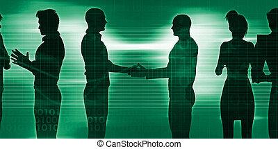 sesja, tworzenie sieci, handlowy