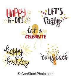set., יום הולדת, שמח, לאטארינג, העבר