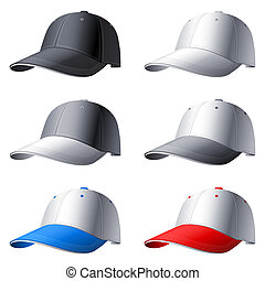 set., כובעים