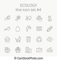 set., エコロジー, アイコン