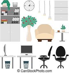 set., オフィス家具