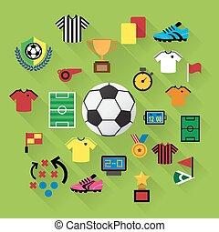 set., サッカー, アイコン
