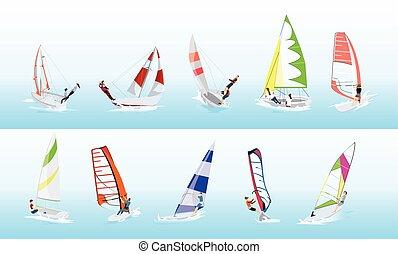 set., スポーツ, ウィンドサーフィン